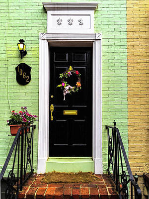 Door Photograph - Dc Entrance by Andrew Soundarajan