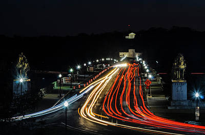 Photograph - Dc Light Trails by Stewart Helberg