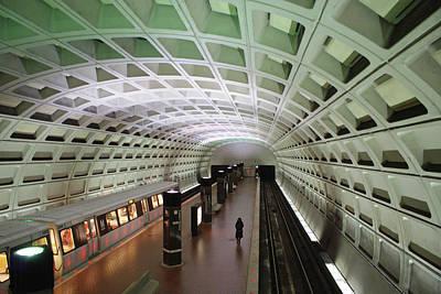 Photograph - Dc Metro by Jean Haynes