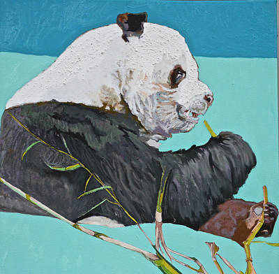 Dc Panda Art Print