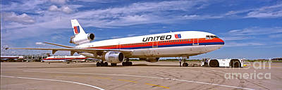 Photograph - dc10-30 Chicago OHare international  by Tom Jelen