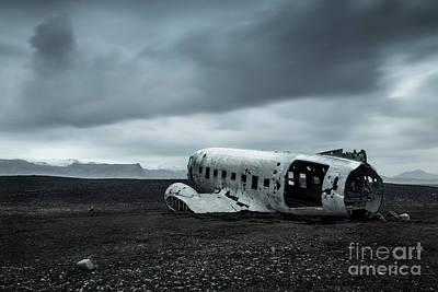 Wall Art - Photograph - Dc3 Plane Crash by Sebastien Coell