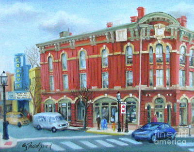 Painting - dDowntown Doylestown by Oz Freedgood