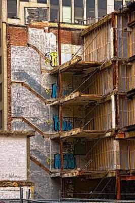Photograph - De-construction by Christopher Holmes
