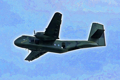 Photograph - De Havilland Dhc-4 Caribou Camouflage by Miroslava Jurcik