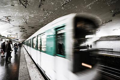 Photograph - Departure by James Billings