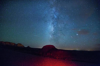 Photograph - De Na Zin Milky Way by Kunal Mehra
