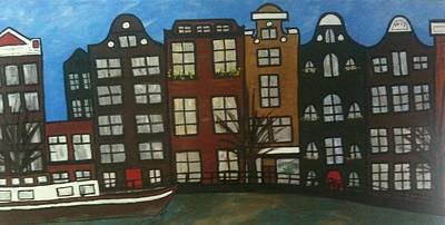 Nederland Painting - De Nederlands  by GabyDuval Image and Design