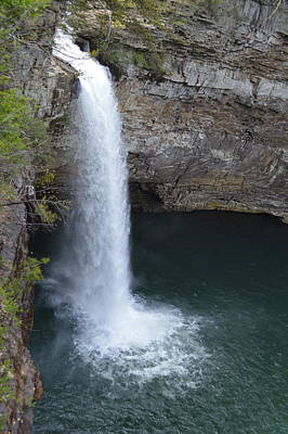Photograph - De Soto Falls 100 Foot Plunge by rd Erickson