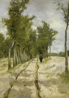 Country Painting - De Torenlaan Te Laren by Anton Mauve