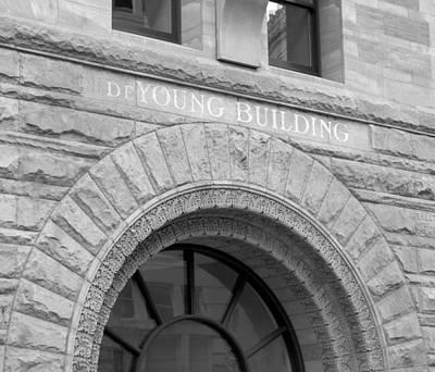 Photograph - De Young Building by Douglas Pike