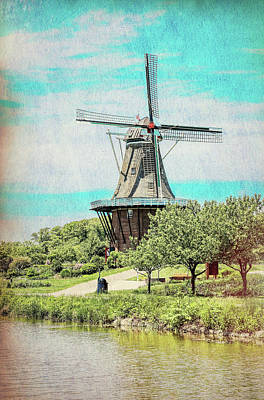 Photograph - De Zwaan Windmill by Dan Sproul