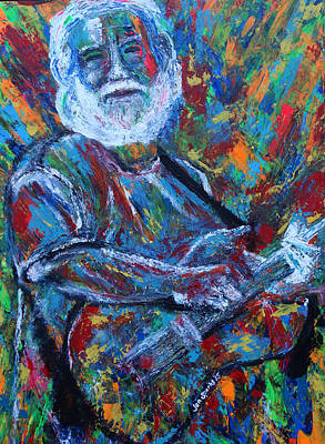 Painting - Dead Art by Jen Sparks