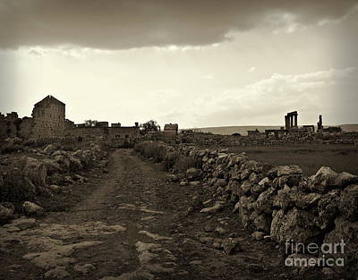 Photograph - Dead City Of Jeradeh by Cendrine Marrouat