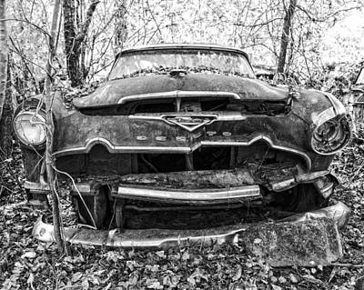 Photograph - Dead Desoto  by Alan Raasch