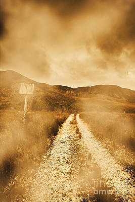 Dead End Road Art Print by Jorgo Photography - Wall Art Gallery