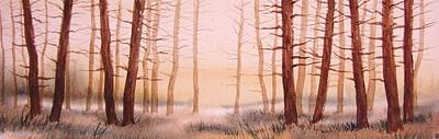 Dead Forest Art Print by Kevin Heaney