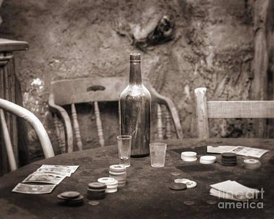 Old West Saloon Photograph - Dead Hand by Arni Katz