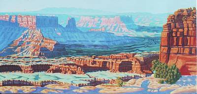 Painting - Dead Horse Point #2 by Allen Kerns