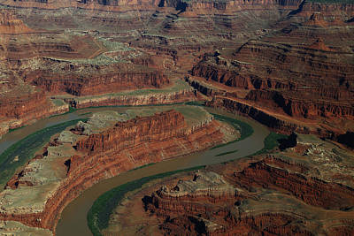 Photograph - Dead Horse Point From The Air by Jean Clark