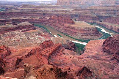 Photograph - Dead Horse Point Natural Landscape - Utah by Gregory Ballos
