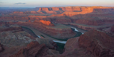 Photograph - Dead Horse Point Panorama by Aaron Spong
