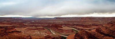 Photograph - Dead Horse Point Panorama by Jay Stockhaus