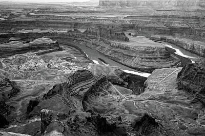 Photograph - Dead Horse Point Park Monochrome - Utah by Gregory Ballos