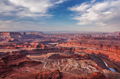 Photograph - Dead Horse Point Vista by Lon Dittrick