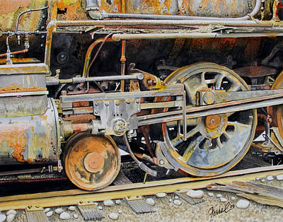 Painting - Dead In Its Tracks by Ferrel Cordle