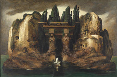 Painting - Dead Island by Karl Wilhelm Diefenbach