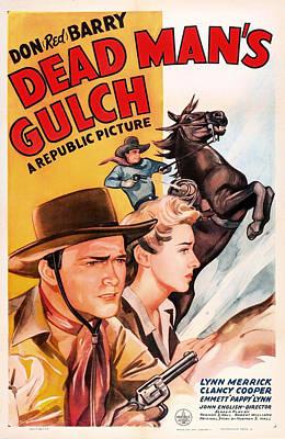 1940s Mixed Media - Dead Man's Gulch 1943 by Mountain Dreams