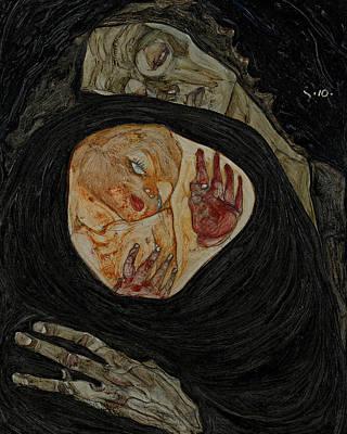 Dead Mother I Art Print