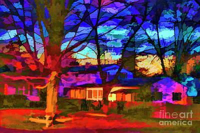 Digital Art - Dead Of Night by Rick Bragan