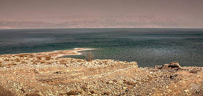 Photograph - Dead Sea Coastline 1 by Endre Balogh