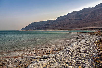 Photograph - Dead Sea Coastline 2 by Endre Balogh
