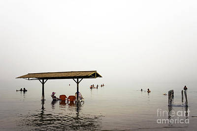 Photograph - Dead Sea by John Rizzuto
