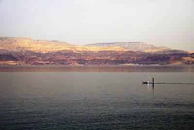 Dead Sea Sojourn Art Print by Deb Cohen