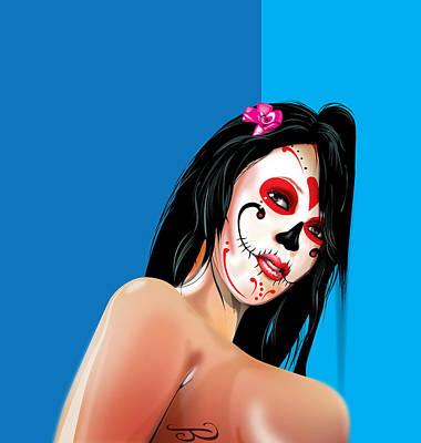 Mixed Media - Dead Sexy by Brian Gibbs