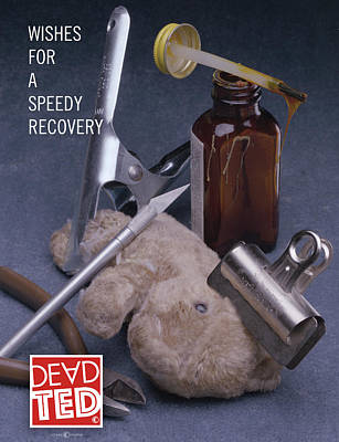 Painting - Dead Ted Recovery by Tim Nyberg