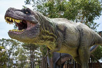Photograph - Deadly  Dinosaur Tyrannosaurus Rex by Venetia Featherstone-Witty