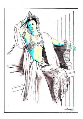 Deadly Diva, Mata Hari -- Portrait Original