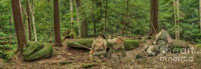 Digital Art - Deadly Forest Ambush by Randy Steele