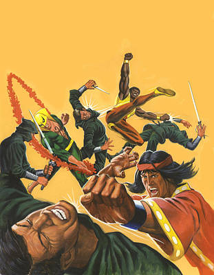 Kung Fu Painting - Deadly Hands Special Album by Harold Shull