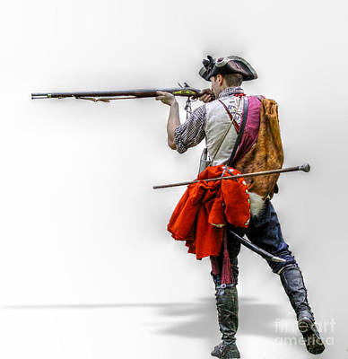 Seven Years War Digital Art - Deadly Intent  by Randy Steele