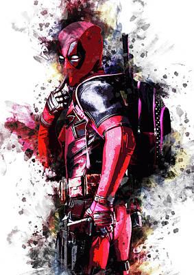 Deadpool Artwork Art Print by Rinaldo Ananta