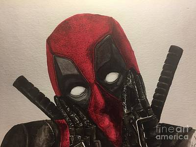 Painting - Deadpool by Tamir Barkan