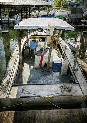 Deadrise Workboat Art Print