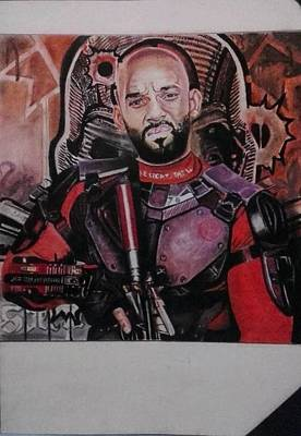 Justice League Drawing - Deadshot by Adriano Altamir