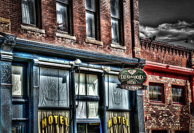 Wild Bill Hickock Photograph - Deadwood Dicks Saloon by Deborah Klubertanz